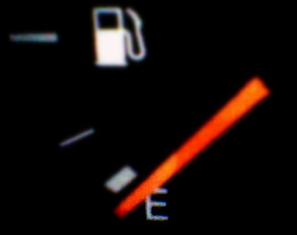 Ran Out OF Gas